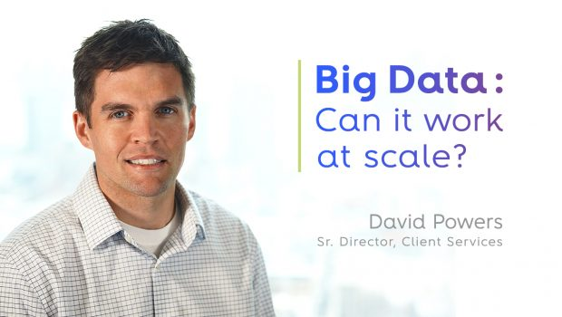 Big Data: Can it work at scale?